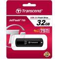 Флеш-накопитель Transcend 32Gb USB3.0 JetFlash 700 Черный (TS32GJF700)