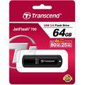 Флеш-накопитель Transcend 64Gb USB3.0 JetFlash 700 Черный (TS64GJF700)
