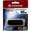 Флеш-накопитель Transcend 16Gb USB2.0 JetFlash 350 Черный (TS16GJF350)