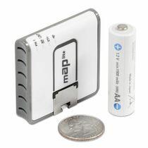 Точка доступа Mikrotik RouterBoard mAP-2n lite [2.4GHz, 802.11b/ g/ n, 2x10/ 100Mbps, microUSB, PoE]