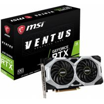 Видеокарта PCI-e: GeForce RTX 2060 Msi (6Gb, GDDR6, 192 bit, 1*HDMI, 3*DP) RTX 2060 VENTUS 6G OC