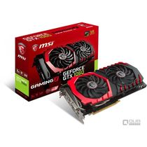 Видеокарта PCI-e: GeForce GTX 1060 Msi (3Gb, GDDR5, 192 bit, 1*DVI, 1*HDMI, 3*DP) GTX 1060 GAMING X 3G