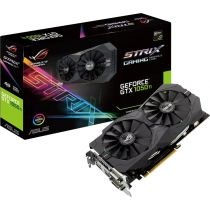 Видеокарта PCI-e: GeForce GTX 1050TI Asus (4Gb, GDDR5, 128 bit, 2*DVI, 1*HDMI, 1*DP) STRIX-GTX1050TI-4G-GAMING