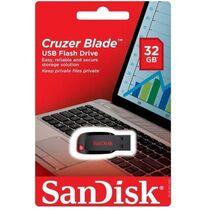 Флеш-накопитель Sandisk 32Gb USB2.0 Cruzer Blade Черный (SDCZ50-032G-B35)
