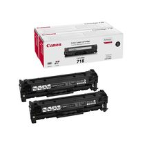 Картридж Canon 718BK комплект (black), 2шт [Canon i-SENSYS MF8330CDN, MF8350CDN, LBP7200CDN, LBP7750CDN, MF8360CDN, MF8380CDW] (2662B005)