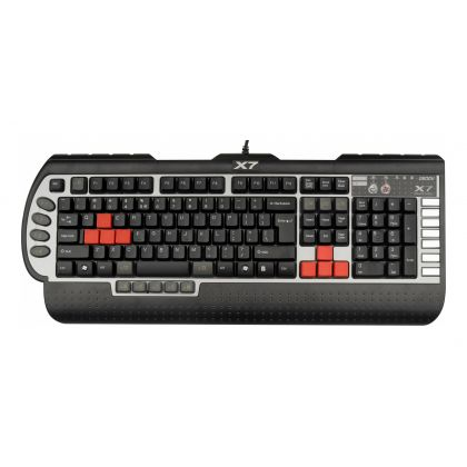 Клавиатура игровая A4Tech X7-G800V, USB, черный (X7-G800V)
