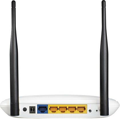 Маршрутизатор: Tp-Link TL-WR841N [1xWAN, 4xLAN 10/ 100Mbit, WiFi 802.11b/ g/ n  300Mb/ s]