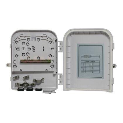 Кросс-муфта оптическая герметичная GJS-X30 (8 сварок, 8 абонентских выводов, планка под 8 SC, 3 ввода кабеля, 200*215*54) с металлической планкой